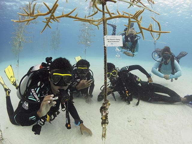Mission accomplished for these Jong Bonaire students!